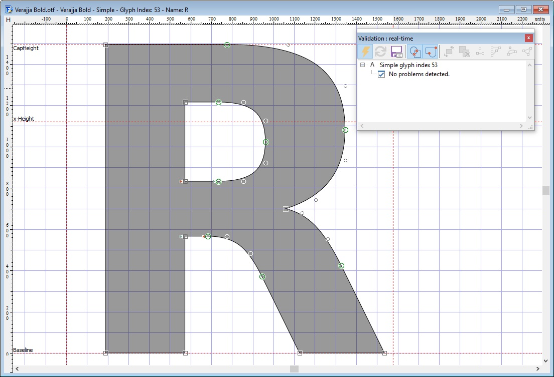 FontCreator for Windows - the most popular font editor