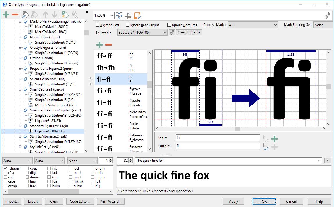 font creator mac open source